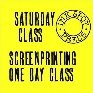 Image of SATURDAY SCREENPRINT Sat. 1st. Oct. 2016. 11am-5pm. £80.00