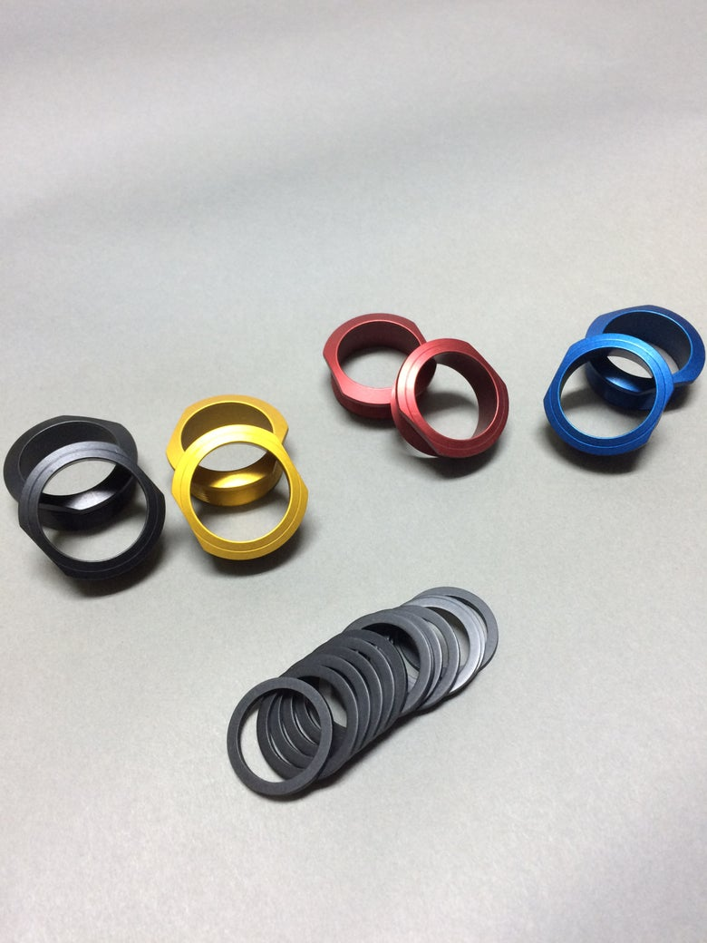 Image of Euro bb threaded bearing cups