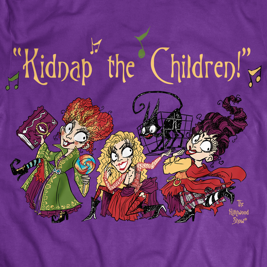 Image of KIDNAP THE CHILDREN TEE