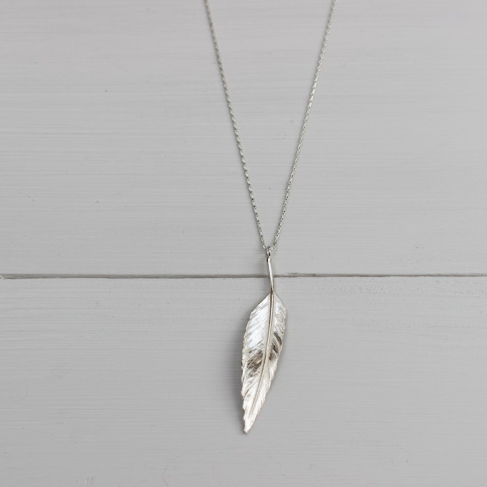 Image of quill necklace