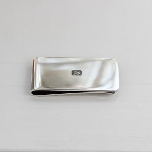 Image of men's silver money clip