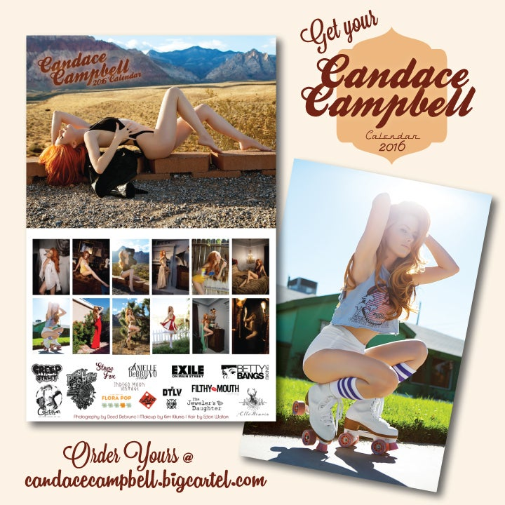 Image of 2016 Candace Campbell Calendar