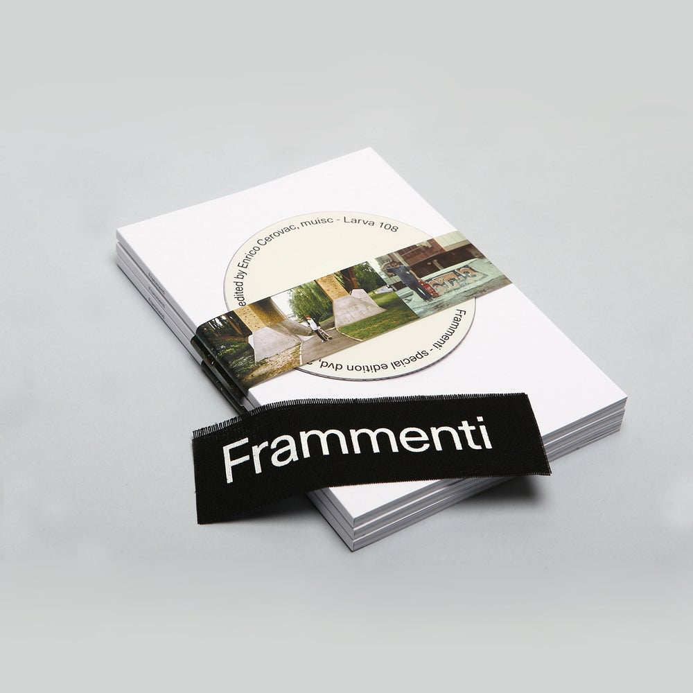 "Image of Enrico Cerovac ""Frammenti"" (zine + DVD + patch)"