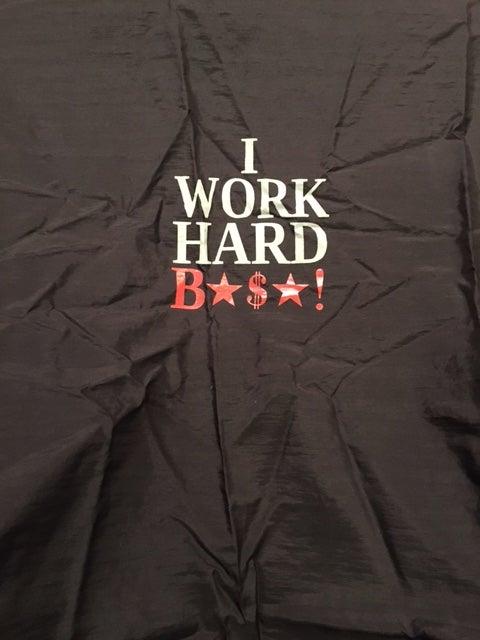 Image of I WORK HARD STYLIST CAP