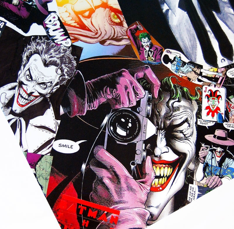 Image of Joker Comic Collage Table
