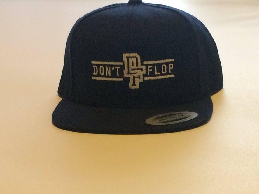 Image of Original Don't Flop Snapback | Navy Blue