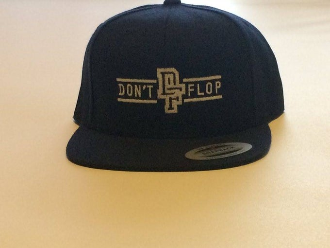 Image of Original Don't Flop Snapback | Navy Blue