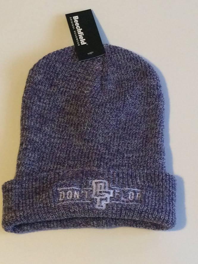Image of Original Don't Flop Beanie | Ash Purple