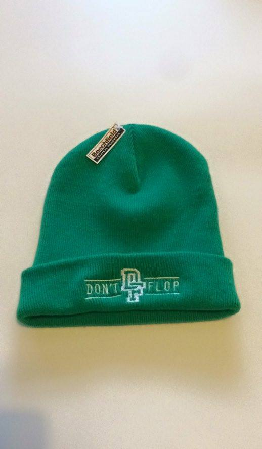 Image of Original Don't Flop Beanie | Bright Green