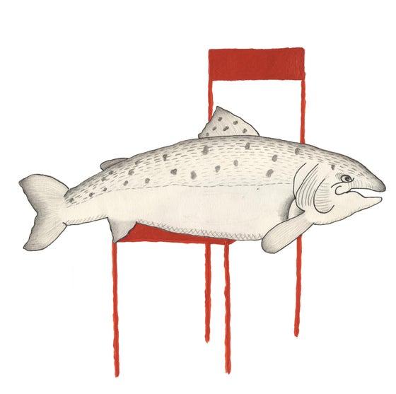 Image of Fisch auf Stuhl