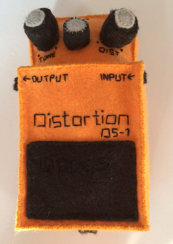 Image of Library Card Felt Distortion Pedal