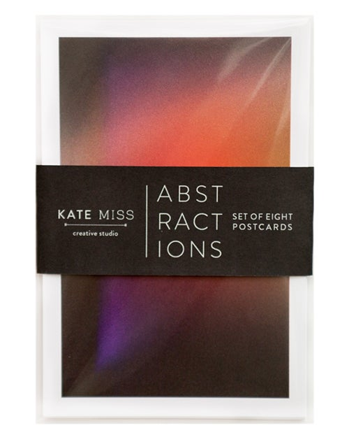 Image of Abstractions Postcard Set