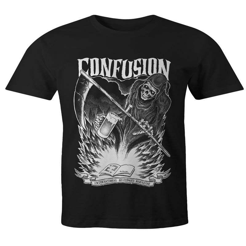 Image of Confusion - GRIM REAPER t-shirt  [black]