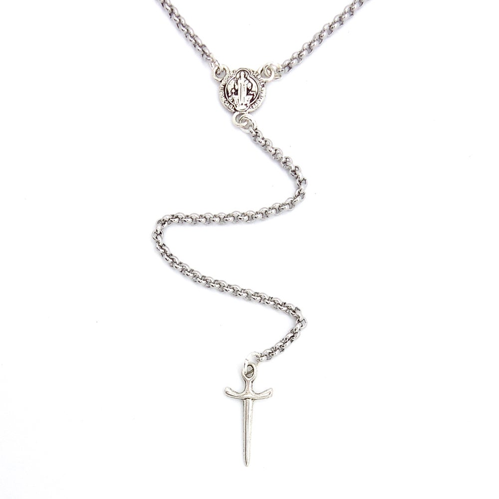 Image of Athame Lariat Necklace