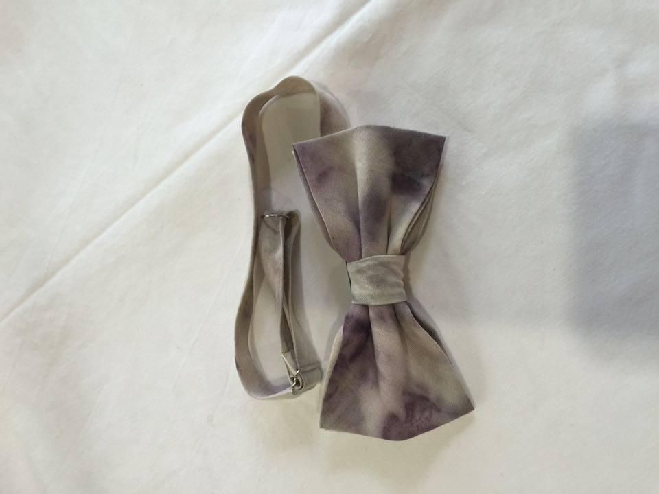Image of Men's Silk Bow Tie / Deep Purple