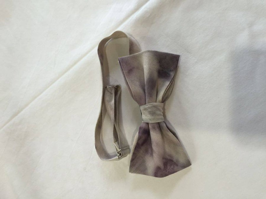 Image of Men's Silk Bow Tie / Deep Purple