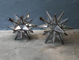 Image of Glass Pendant Star Lantern