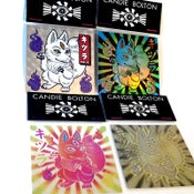 Image of Kitsura Bikkuriman Sticker Set