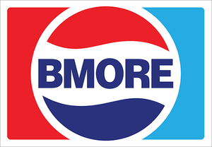 Image of Bmore Cola Vinyl Sticker -NEW!-