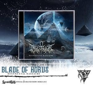 Image of BLADE OF HORUS - Monumental Massacre CD