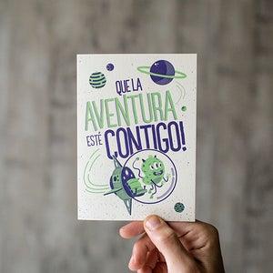 Image of Que la aventura esté contigo