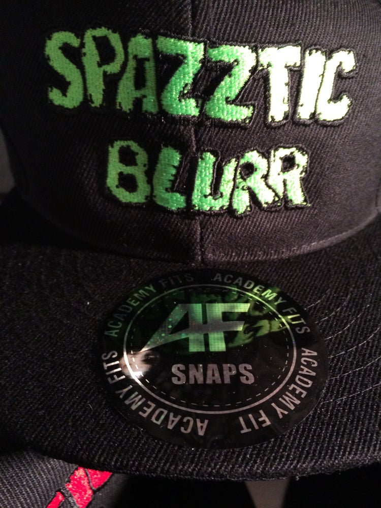 Image of SPAZZTIC BLURR-Embroidered Baseball Hat