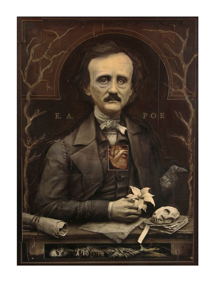 "Image of ""E. A. POE"" Limited Edition print"