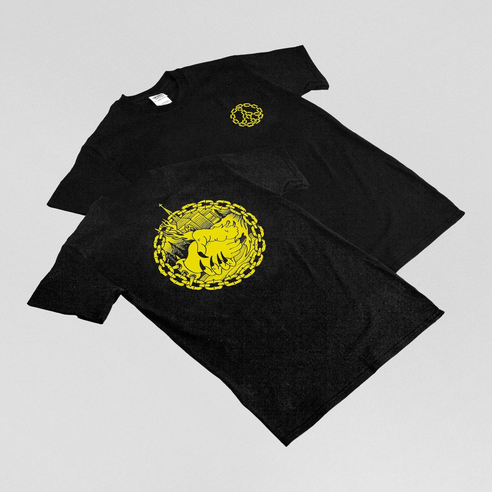 Image of ILK — YELLOW PEACE TSHIRT