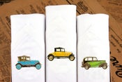 Image of Men's Hankies Vintage Cars
