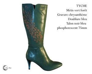 Image of TYCHE Vert Sapin - Green Fir