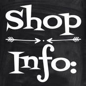 Image of Shop Information