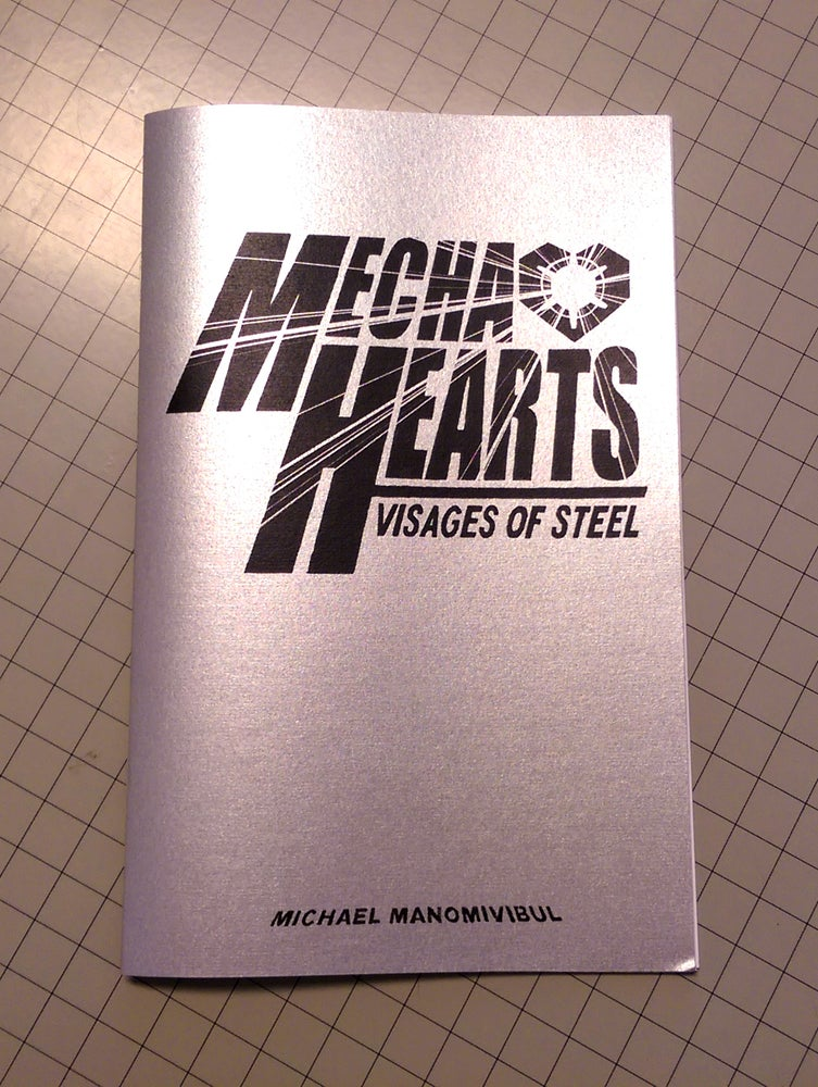 Image of Mecha Hearts: Visages of Steel A themed Inktober Zine