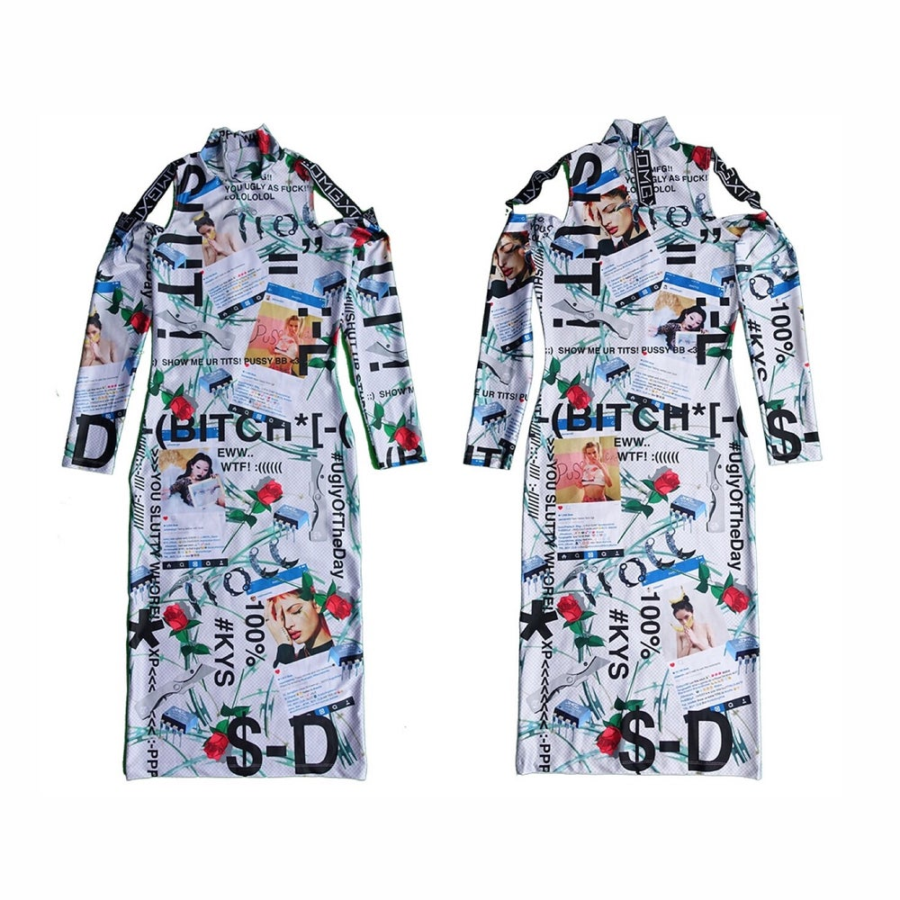 Image of DVMVGE KY$' 182 Full-Print Dress