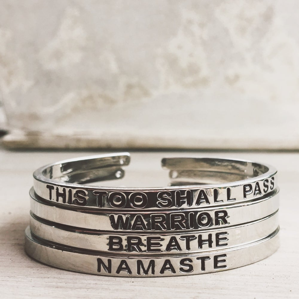 Image of Mantra Cuff