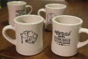 Image of Ceramic diner mug. 10oz