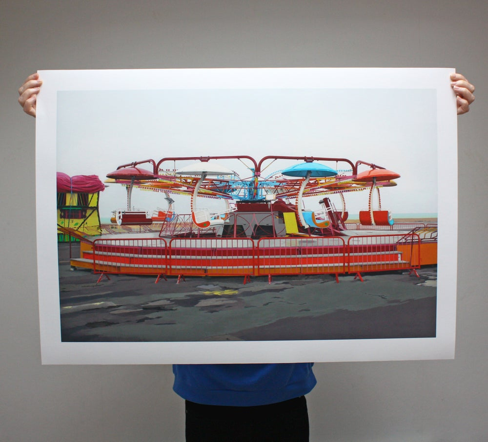 Image of 'Paratrooper' - Limited Edition Print - 91.5cm x 65.5cm