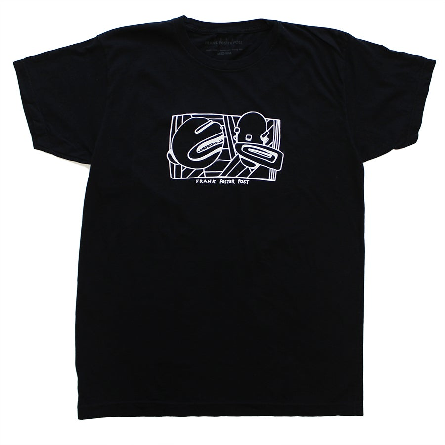 Image of FFP TWO HEADS BLACK T-SHIRT