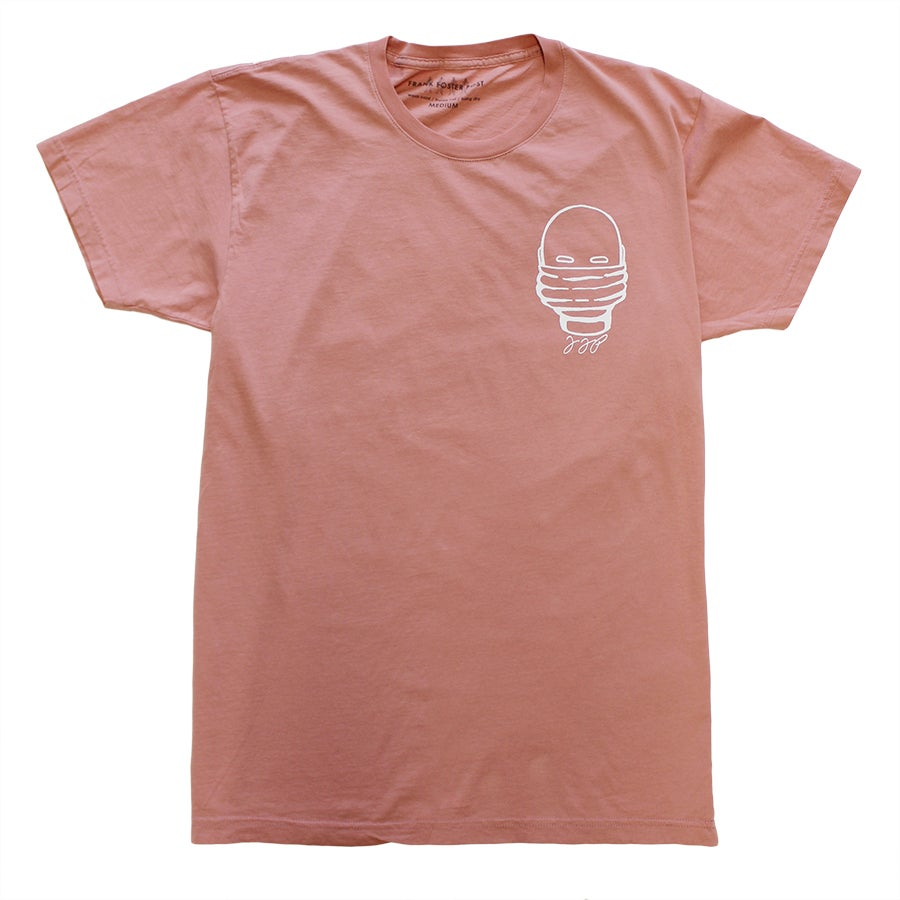 Image of FFP MASK HEAD APRICOT SHIRT