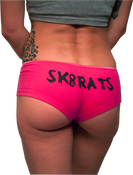 Image of SK8RATS Booty Underwear (Pink)