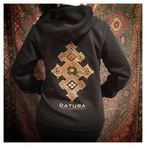 "Image of ""Datura Henna"" Cotton Fleece Blend Hoody"