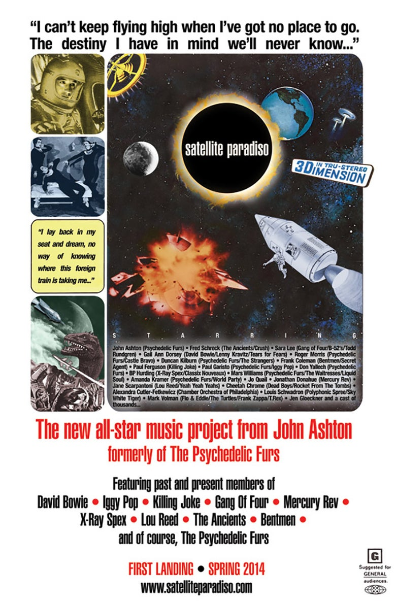 "Image of Satellite Paradiso 11"" x 17"" Sci-Fi Poster"