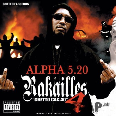 "Image of ALPHA 5.20 DOUBLE CD ""RAKAILLES 4"""