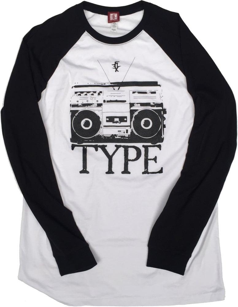 Image of StereoType Raglan Shirt