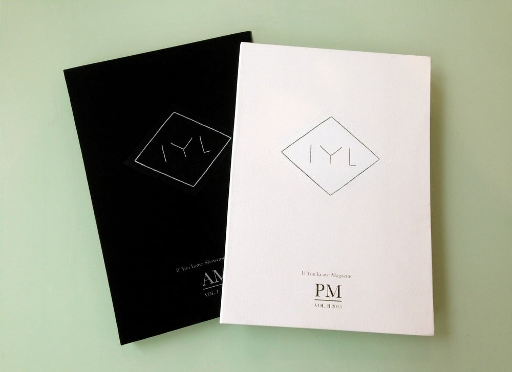 Image of If You Leave Magazine AM/PM - Limited Two Volume Set