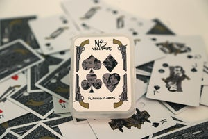 """Image of Nate Van Dyke """"Crazy Eights"""" Playing Cards"""