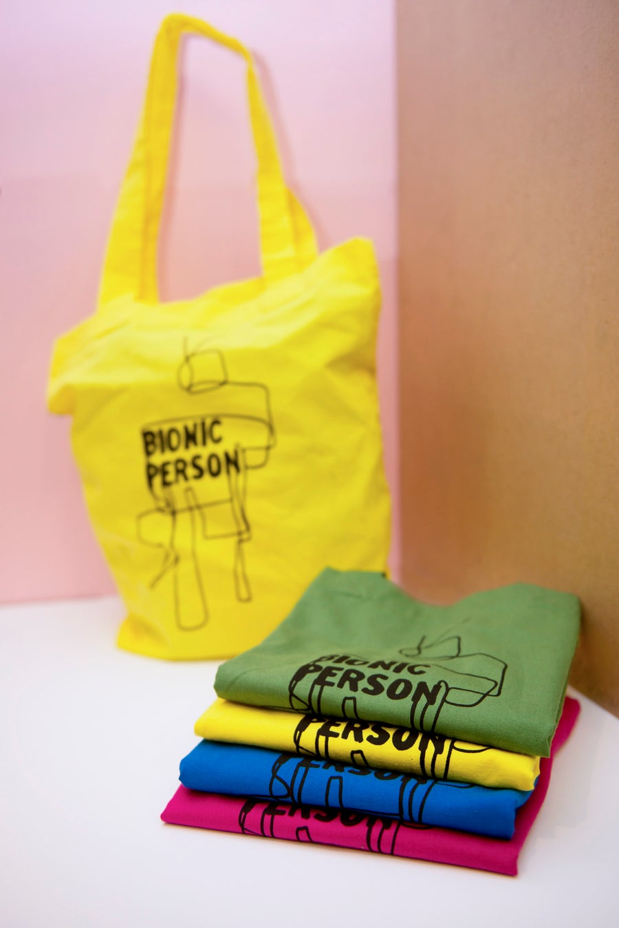 Image of Bionic Person / tote bag