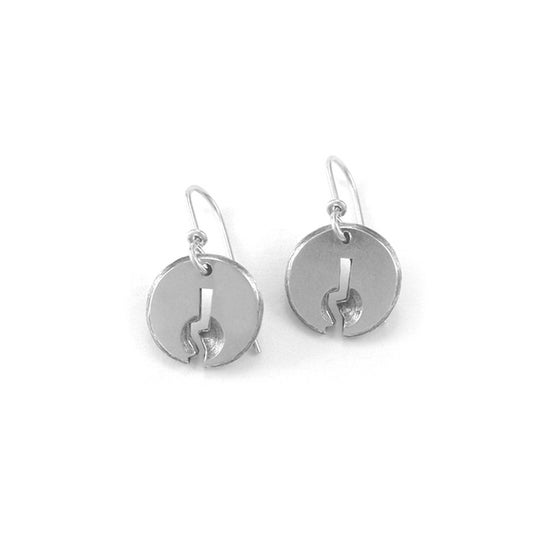 Image of keyhole earrings