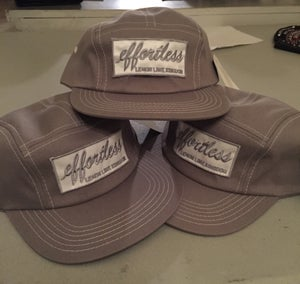 Image of Grey Effortless 5 Panel Hat