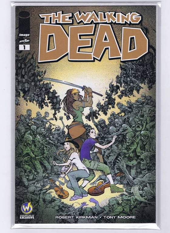 Image of The Walking Dead #1 Wizard World Austin 2015 Variant - Moritat Cover