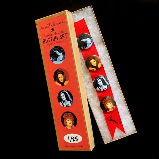 "Image of ""Dark Ladies"" Limited Edition Button Set"